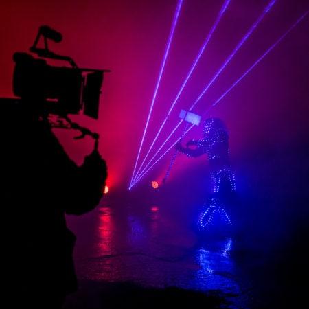 Новые персонажи в клипе - съемки музыкального видео