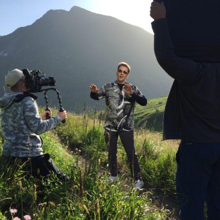 Снимаем клип на высоте 2000м в Сочи - видео продакшн студия