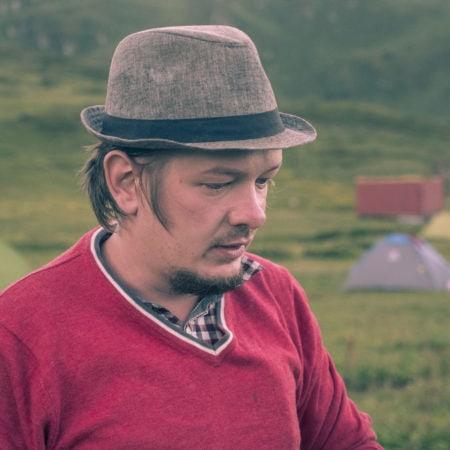 Второй съемочный день в горах Сочи