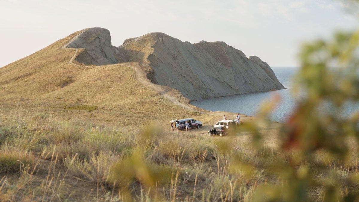 Общий сбор на локации - съемки клипа Крым