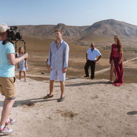 Финальный кадр в клипе видеосъемка в Крыму