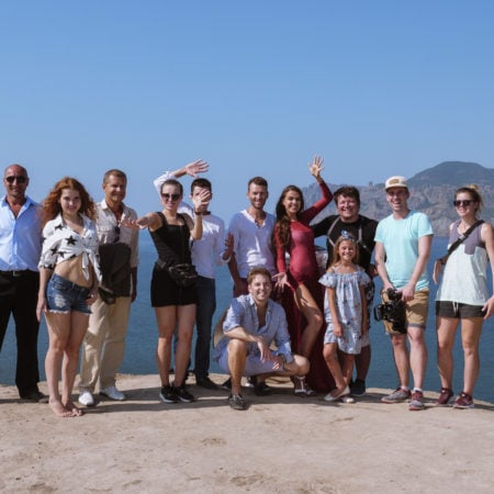 Фото со всеми участниками в Крыму