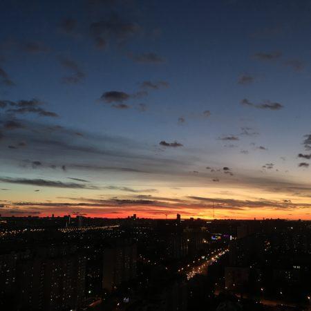 Вид из окна на Москву - видео продакшн студия