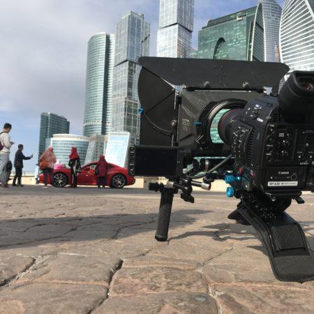 Подготовка к съемкам клипа в Москве